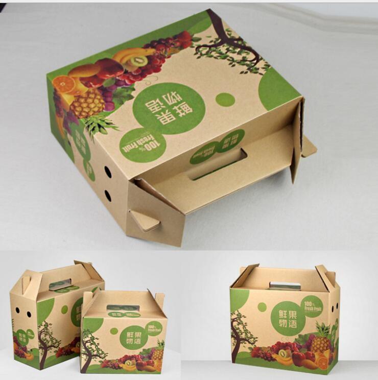 水果牛皮纸特产瓦楞箱