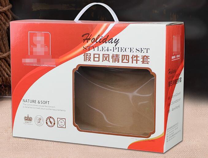 塑料提手开窗包装箱
