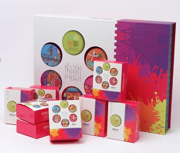 设计感月饼盒