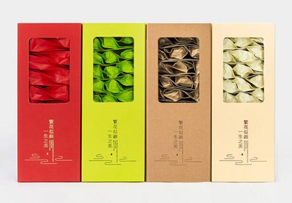 茶叶包装创意茶叶盒开窗抽屉盒