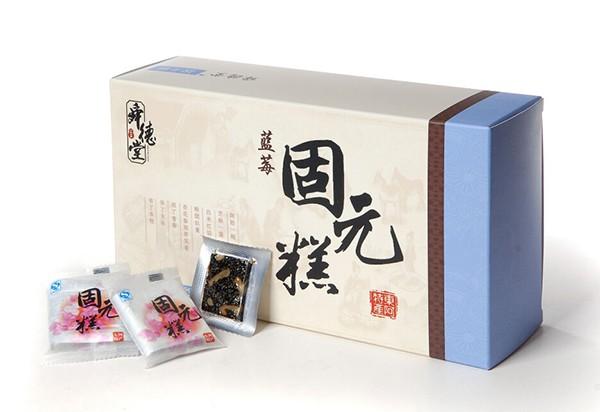 阿胶白卡礼盒蓝莓人参金丝枣