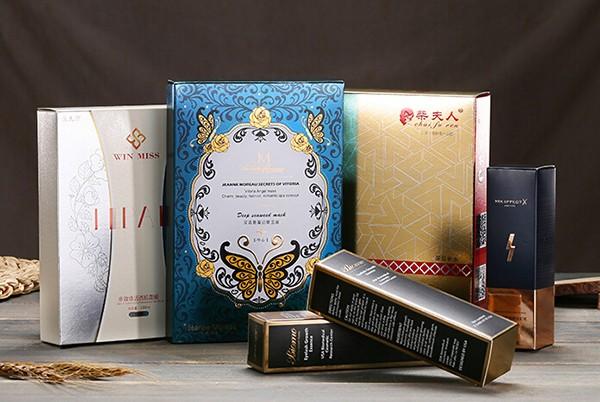化妆品套装金卡盒